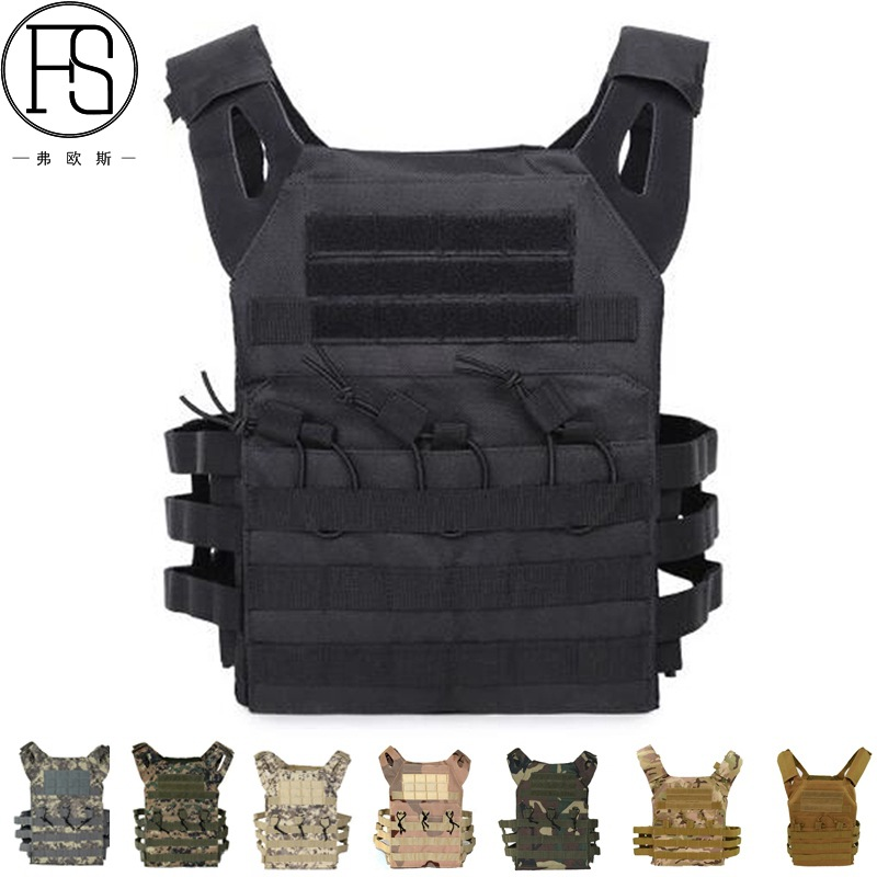 Multi-function Tactical vest Camouflage army vest bag military uniform Tactical vest Hunting military vest Tactical equipment