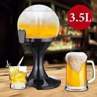 3.5L машина для пивных напитков контейнер для бара пивная башня ледяное ядро напиток белое вино пивная пушка Тип Диспенсера для воды