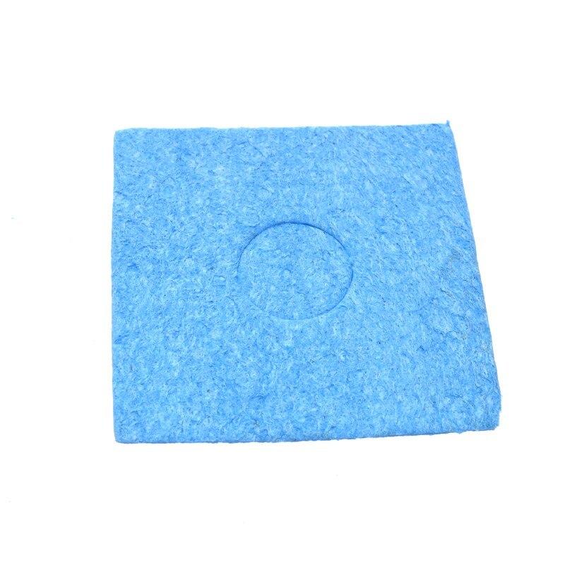 BCQLI 10 Pcs Soldering Iron Special High Temperature Sponge,With Holes 60mm x x