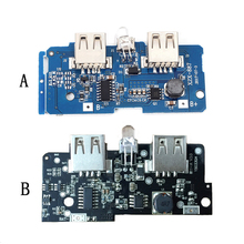 5V 1A 2A Step Up Boost Power Supply Module 2A Dual USB Output 1A Powerbank Power Bank Charger Module Charging Circuit Board DIY стоимость