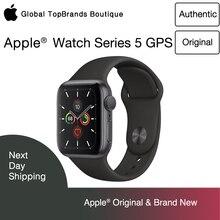 Новый спортивный браслет Apple Watch Series 5, только для Wi Fi, Алюминиевый, с защитой от сердечных сокращений