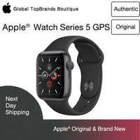New Apple Watch Series 5 Wifi-only Aluminum SportBand SmartExercise ECG HeartRhythmSensor HearingProtect TrackCycle WithoutPhone