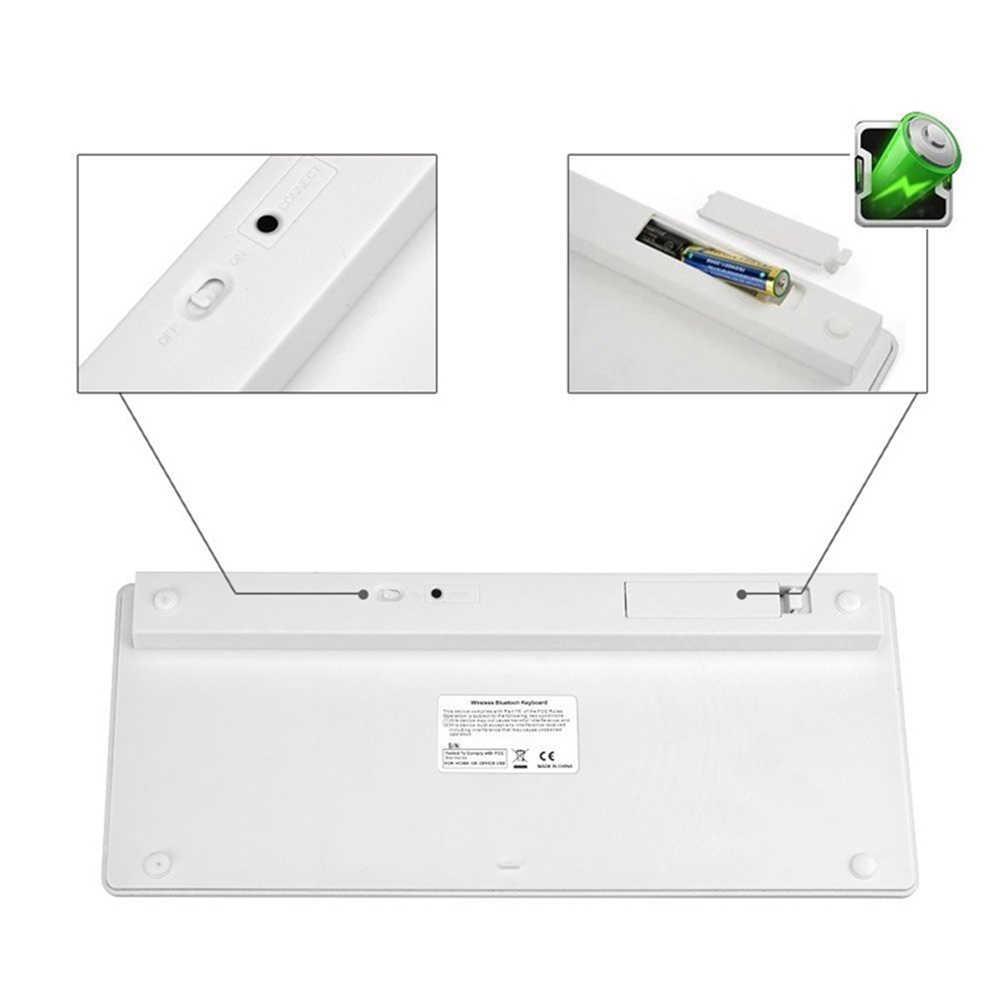 超スリム防水静音キーストロークワイヤレス Bluetooth 3.0 キーボードアップルシリーズ/ブック/スマートフォン/ PC コンピュータ