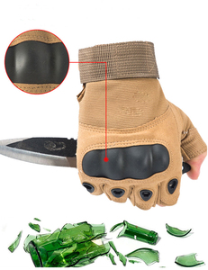 Image 2 - Guanti tattici Sport Allaria Aperta Moto Sbarazzamento Mezzi della Barretta di Combattimento Militare Anti Slip In Fibra di Carbonio Borsette Guanti Tattici