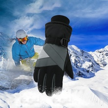 Multifunction Windproof Waterproof Thick Thermal Gloves Practical Winter Snow Outdoor Fluffy Cycling Snowboard Ski Sports
