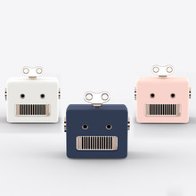 New Mini Portable Blurtooth Speakers Robot USB Rechargeable Wireless Bluetooth Speaker Creactive Cute Decor