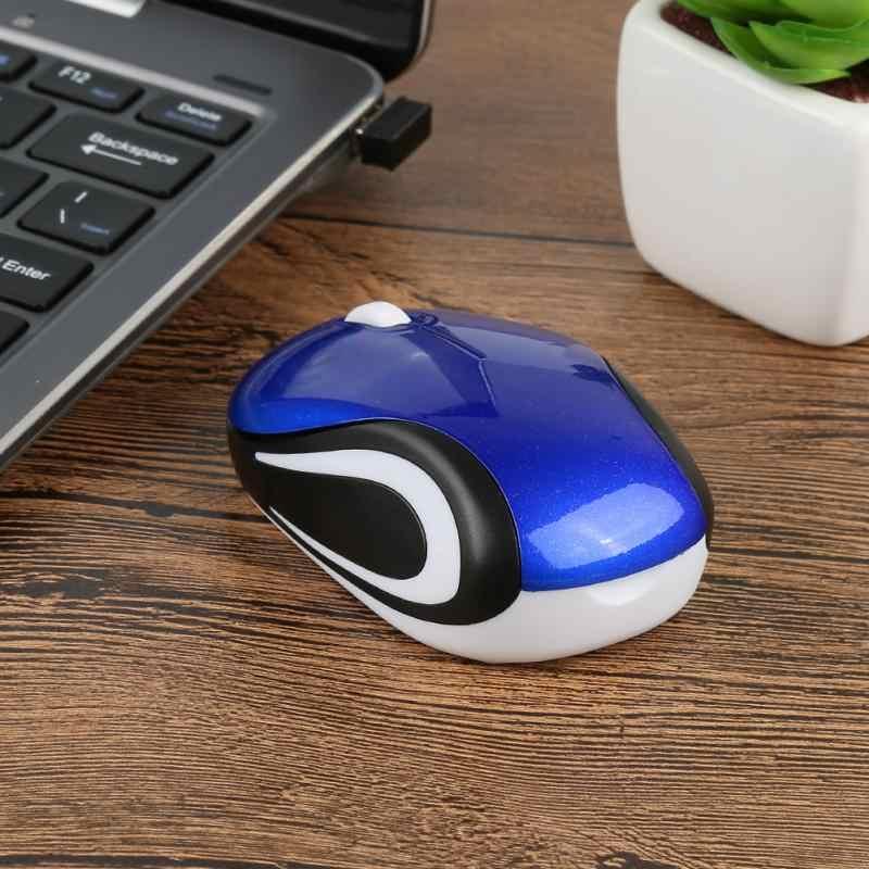 Gaming Muis 2.4GHz 2000DPI Muizen Optische Draadloze Muis Usb-ontvanger PC Computer Draadloze voor Laptop Geschenken met USB ontvanger