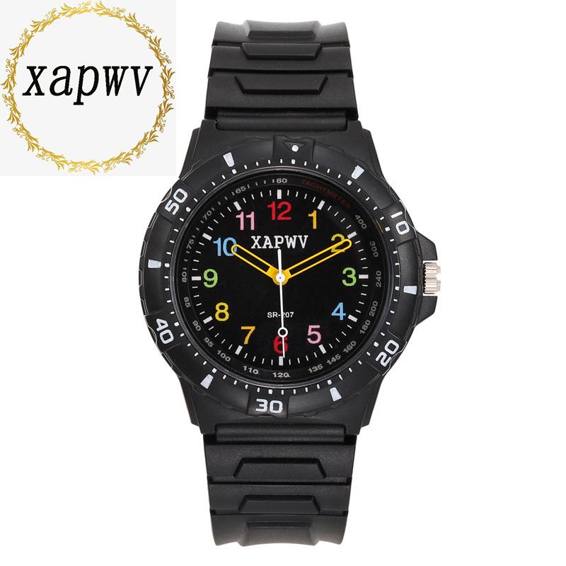 Luxury Brand Fashion Creativity Student Sports Watch Silicone Strap Children's Wristswatch Boy Clock Quartz Watch C108