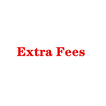 Extra Fee Link For Customers To Pay For Rush Order Or Special Request Order image