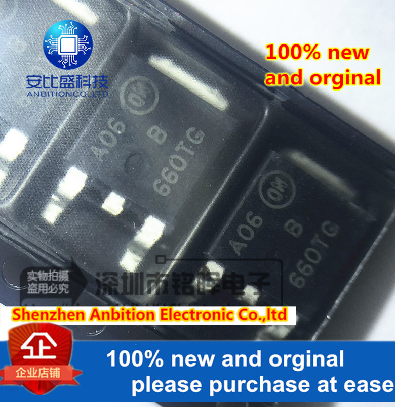 10pcs 100% New And Orginal MBRD660CTT4G 660TG TO-252 6A 60V In Stock