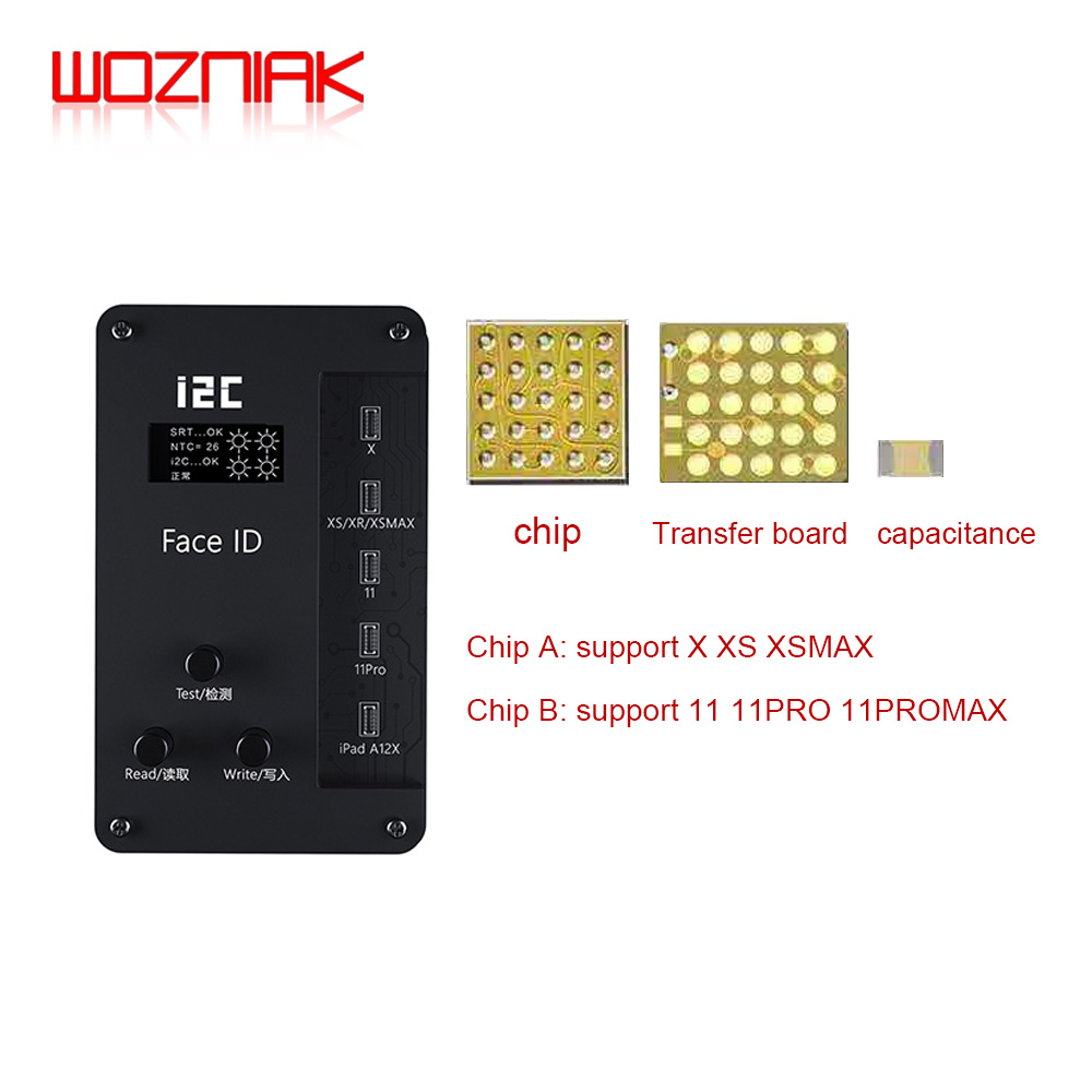I2C ID IFace-V8 Dot Matrix Programmer Universal chip For iPhone X-11 pro max & iPad A12