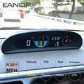 EANOP GH200 GPS HUD Head up Display Car Speedometer Inclinometer Pitch Automotive Voltage Monitor Compass Altitude For Universal