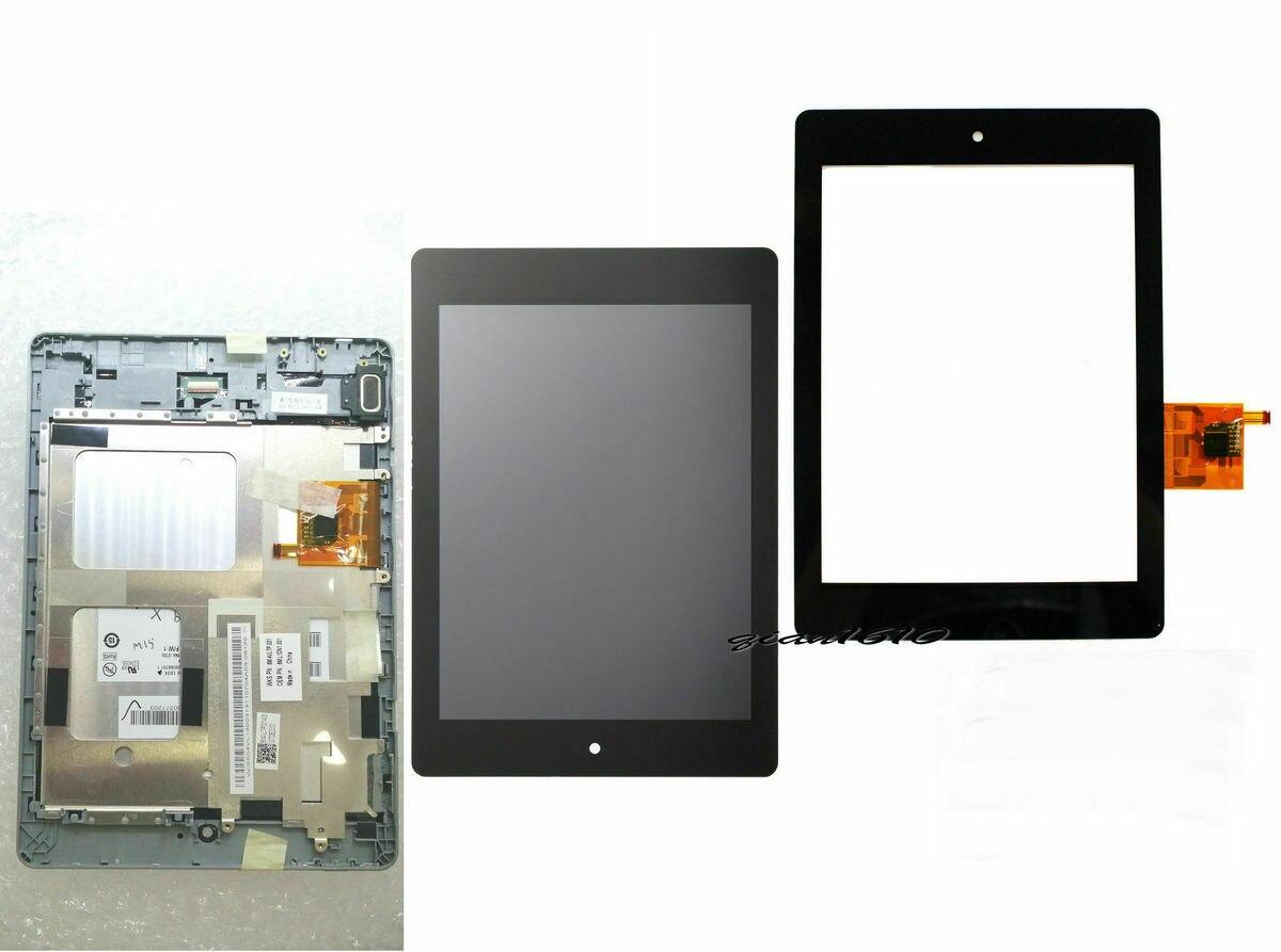 Aparat cyfrowy Digitizer ekran dotykowy Acer Iconia Tab A1 A1-810 A1-811 A1 810 wyświetlacz LCD z numerem przesyłki