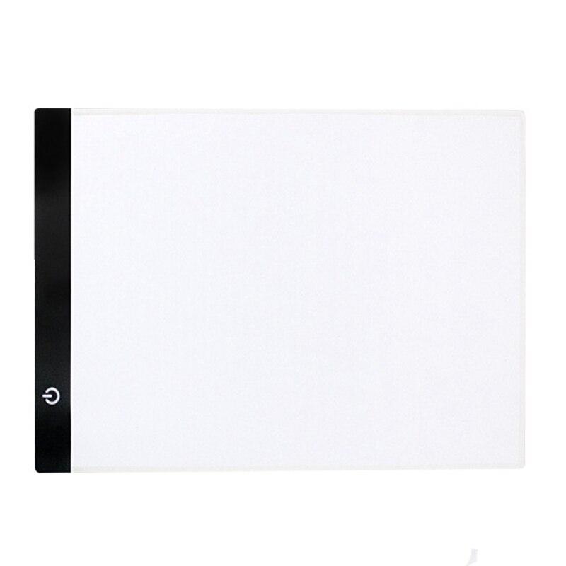 A4R LED Light Pad for Diamond Painting, USB Powered Light Board Kit, Adjustable Brightness Us Plug