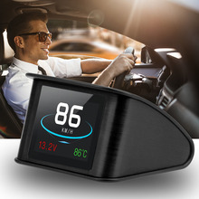 LEEPEE OBD Smart Digital Meter HUD P10 Multi funktion Head Up Display Für Auto Tachometer Temperatur RPM Laufleistung Che