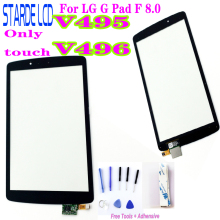 New 8'' inch Tablet Pc For LG G Pad F 8.0 V495 V496 UK495 Touch Screen Panel Digitizer Outer Glass Not LCD with Free Tools new for 47 f 8 48 001 47 f 8 48 007 1 r21 0540112 touch screen digitizer panel glass