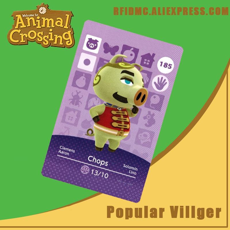 185 Chops Animal Crossing Card Amiibo For New Horizons