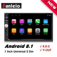 2 Din Android 8.1 Head Unit Auto Radio GPS Navigation Car Stereo Android Car Player with RDS Wi Fi Android MP3 Player For Kia