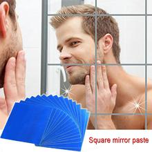 Wall Mirror Tile Stickers