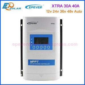 EPEVER XTRA-N серии 30A 40A со слежением за максимальной точкой мощности, контроллер солнечного зарядного устройства 12v 24v 36v 48v автоматическая работа...