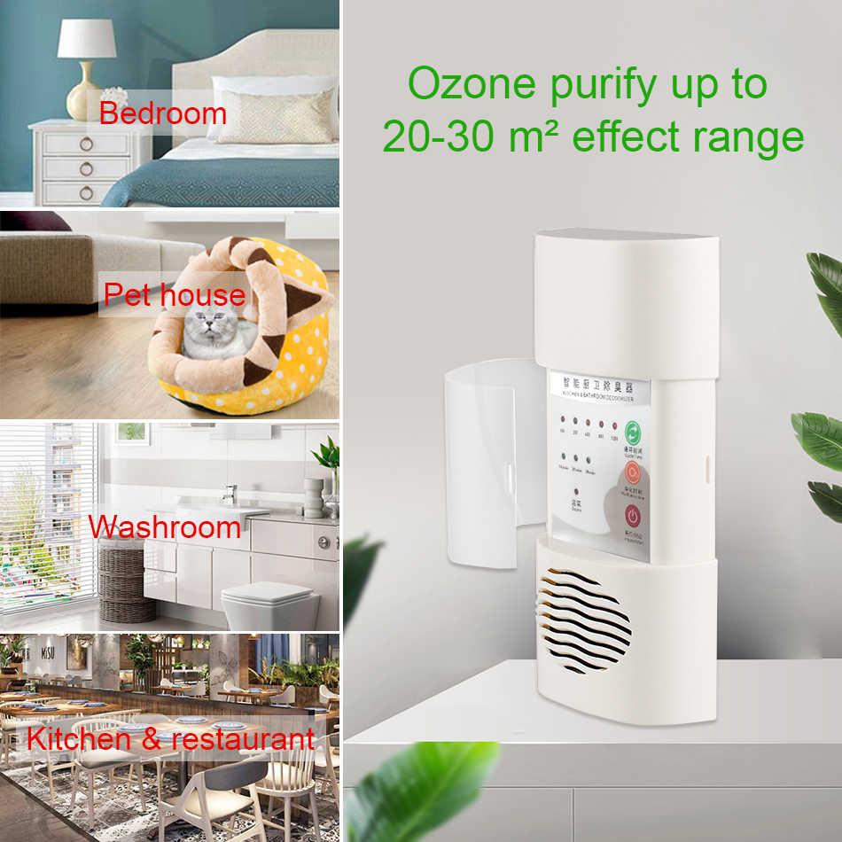 STERHEN domu filtr powietrza oczyszczacz ozonu sterylizator naścienny Generator ozonu 110V 220V oczyszczacz powietrza dezodorujący dla fomadehyde