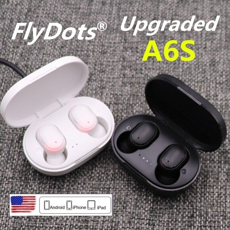 Беспроводные наушники FlyDots A6S TWS Bluetooth 5,0 для Xiaomi Redmini Airdots, гарнитура с шумоподавлением, наушники для Huawei SamgSung