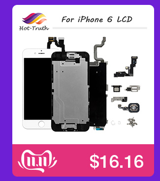 H6216dcbd4a964db59732773c183b1496T 1Pcs OEM LCD For iPhone 7 7 Plus Display Full Set Digitizer Assembly 3D Touch Screen Replacement +Front Camera+Earpiece Speaker
