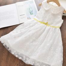 Spring Summer Girl Dress Children Clothes Kids es for s Party  Sleeveless Flower Toddler