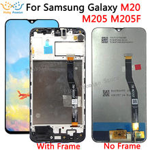 6.3 LCD For SAMSUNG Galaxy M20 2019 SM M205 M205F LCD Display Touch Screen Digitizer Assembly replacement parts