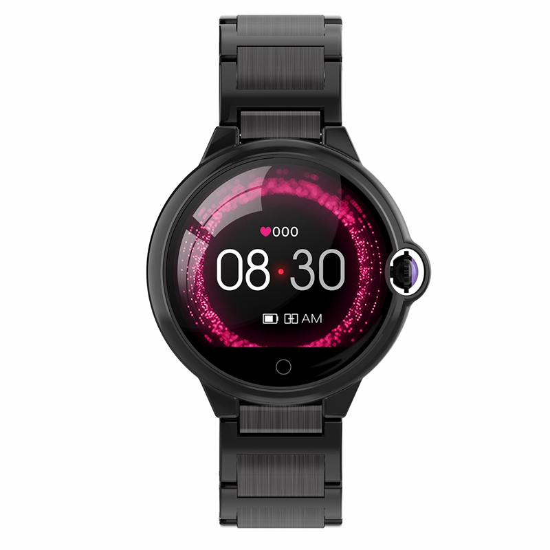 DR88 Smart Watch Heart Rate Monitor Blood Pressure Bluetooth 4.0 IP67 Waterproof Call Remind 1.22 Inch Full Large Color Screen