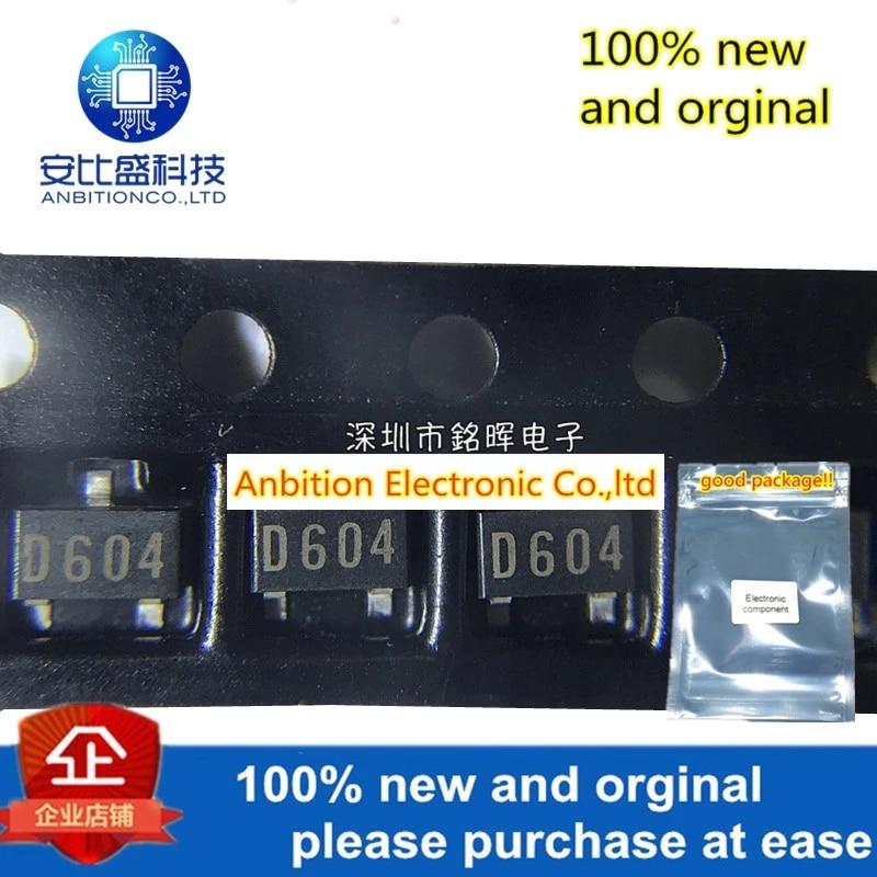 10pcs 100% New And Orginal XC61AC3602MR Silk-screen D604 SOT23 In Stock