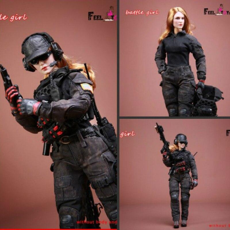 1/6 масштаб битва девушка 1,0 набор экшн фигурка с камуфляжным боевые костюмы тактические перчатки для стрельбы бейсбольная шляпа гетры колле...