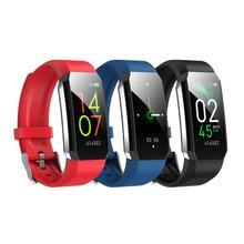 Fitness Bracelet Body Thermometer IP67 Waterproof Smart Bracelet Fitness Tracker Heart Rate Monitor Smart Band Watch Men Watch