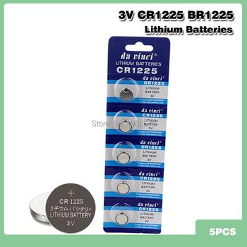 5 sztuk 3v Volt bateria litowa CR1225 LM1225 BR1225 ECR1225 KCR1225 zegarek zabawki kalkulatory przycisk ogniwa monetowe bateria tanie i dobre opinie kpay CN (pochodzenie) 30mAh 12mm*2 5mm Li-ion CR1225 BR1225 China (Mainland) toys calculators laser pointers camcorders PDAs remote controls
