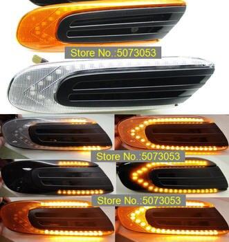 2 sztuk Led dynamiczny boczny znacznik Turn regenerator sygnału lampa światła sekwencyjny migacz dla MINI COOPER F55 F56 F57 2011-2018