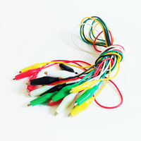 Alligator Clips Electrical DIY Test Leads Alligator Clip Double-ended electrical Clips Roach Clip Test Jumper Wire Connector