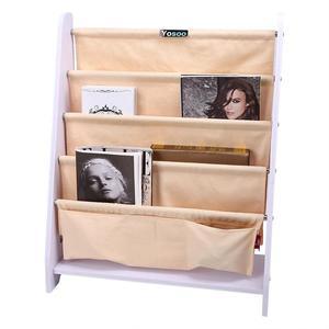 Image 3 - Estante de madera para libros para niños de 5 niveles, estantería de almacenamiento, organizador de exhibición, decoración del hogar