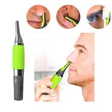 Sobrancelha orelha nariz aparador de remoção clipper barbeador elétrico pessoal cuidados com o rosto cabelo trimer