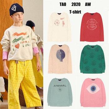 Kids T-shirts TAO Brand 2020 Autumn Long Sleeve T Shirt Tees Children Boys Clothes Casual Baby Girls Christmas Shirts Fortnight 1