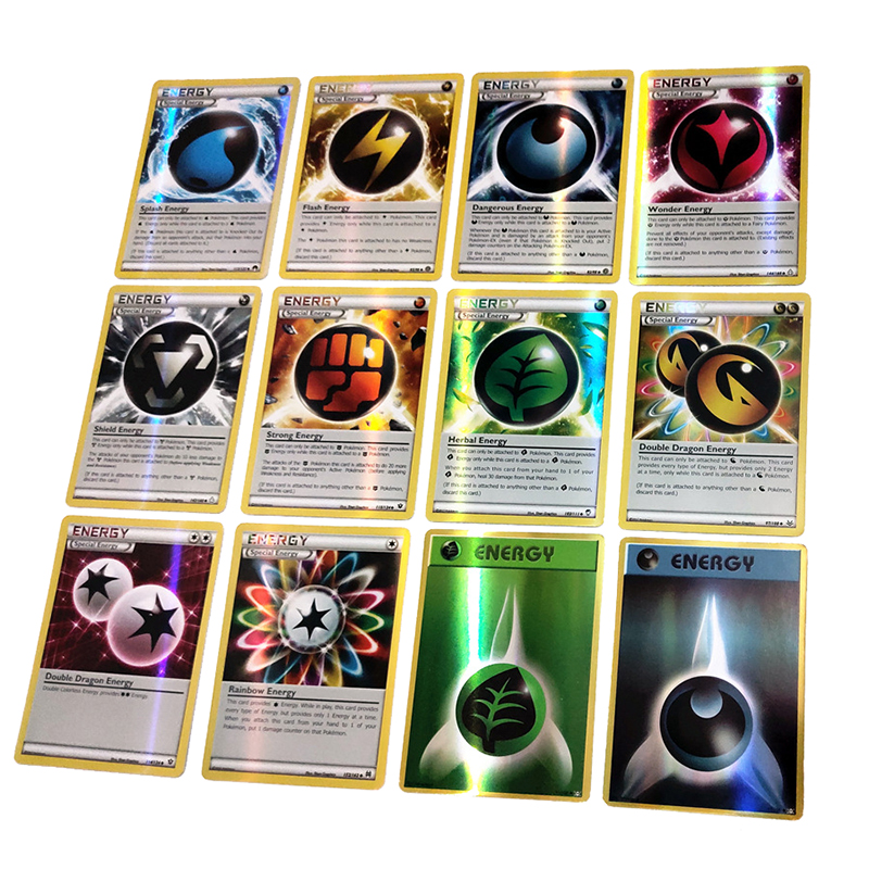 Takara Tomy Pokemon 60 100 200PCS GX EX MEGA Cover Flash Card 3D Version Sun Moon Lost Thunder Cards Gift Children Toy PTCG