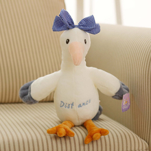купить Creatrive Cute Seagull Plush Toy Stuffed Seabird Plush Doll Toy Home Decoration Doll Children Ragdoll Toys Gift дешево