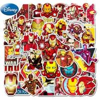 10/30/50 Teile/satz Disney Marvel Avengers Iron Man Aufkleber Laptop Gitarre Skateboard Reise Gepäck Wasserdicht Aufkleber Kinder spielzeug