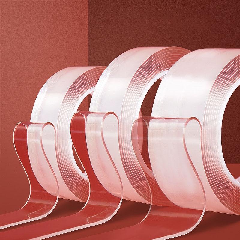 Купить новая популярная волшебная нано лента без следов двусторонняя