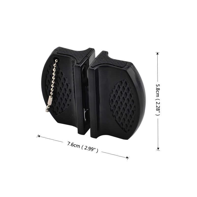 Pisau Praktis Multifungsi Desain Kartun Stabil Mini Pengasah Pisau Dapur Alat Gerinda Gunting Dapur Gadget