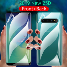 25D Hydrogel Film for Samsung galaxy S10 S10plus S10 5G front+back screen protector for samsung S8 S8plus S9 S9plus S7 S7edge S6 cheap gear vr 5 0 3d vr glasses helmet built in gyro sens for samsung galaxy s9 s9plus s8 s8 note5 note 7 s6 s7 s7edge