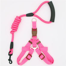 dadugo dog leash Traction Rope Pet dog harness for small and large dogs 5 color size s/m/l/xl(China)
