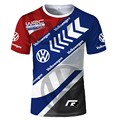 New Design For Men's T-shirt 2021 Cycling T shirt Rally Racing Team Logo Printed Breathable Sportswear Tshirt OutdoorTop Shirts