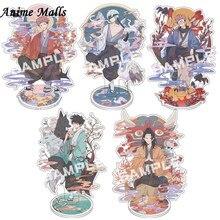 2021 Anime juskeleton su Kaisen Gojo Satoru Fushiguro Megumi figura acrilica BL Stand modello piastra Cartoon Desk Decor moda Cospla
