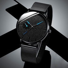 Ultra Thin Men Watches Casual Minimalism Brand Quartz Simple