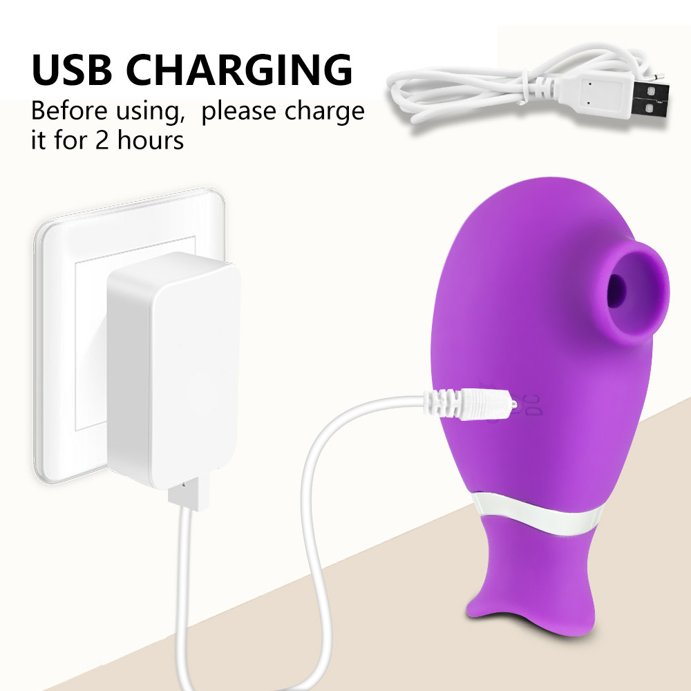 ClitorisSuckerVibrator charging